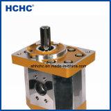 63ml Pompe à engrenage hydraulique double pour excavatrice Cbqt