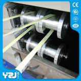 La cadena de producción plástica de máquina del estirador de los PP recambios PP que atan con correa el rodillo hace la máquina