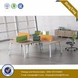 ガラス家具ワークステーション現代オフィスの区分(UL-NM028)