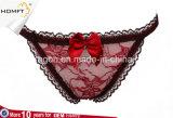 Diamante abrocha Puntilla T los pantalones de estilo occidental Erotic Sexy Lencería Sexy Bragas de T-back