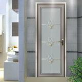 Дверь полуфабрикат здания алюминиевая с матированным стеклом