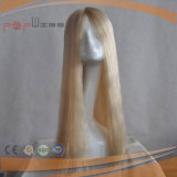Het volledige Stuk van het Menselijke Haar van het Haar van Remy van de Blonde Mono Hoogste (pPG-l-01450)