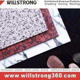 Comitato composito di alluminio di finitura della pietra per rivestimento