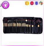 19pcs maquillage sous étiquette privée de bambou Jeu de balais