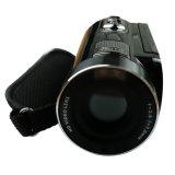Alta definição total de 1080p 24MP com zoom digital de 16X IV controlo remoto de câmaras de vídeo DV no ecrã táctil do CMOS