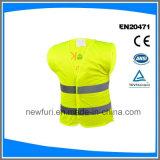 Куртки тельняшки безопасности трика сетки отражательные с Ce Eniso 20471