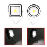 La energía solar Rechargeble COB portátil LED luces de trabajo