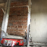Macchine della costruzione di Tupo e mortaio automatico della strumentazione che intonaca per la parete