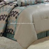 美しい葉デザイン優雅なジャカード寝具セット