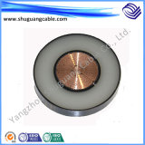 XLPE ha isolato il cavo elettrico medio inguainato PVC di tensione