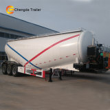 3axles 60t Engine Compressor Powder Bulk Cement Tank Semi Trailer card