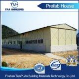 A casa Prefab prática do projeto da tropa da acomodação