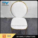 Casamento de jantar de aço do ouro da cadeira da mobília Home