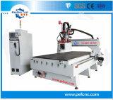 Original en italiano Hsd 6kw Auto el cambio de herramienta Wood Router CNC máquina