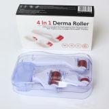 4 en 1 Dermaroller con el rodillo 300 de Derma fija 720 contactos 1200 contactos