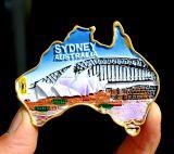 Magnete famoso all'ingrosso del frigorifero di Polyresin 3D del regalo del ricordo dei punti turistici dell'Australia