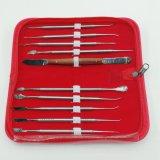 Gutes P [Reis-zahnmedizinisches Instrument-zahnmedizinisches Wachs, das Hilfsmittel-Installationssatz schnitzt