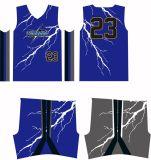 Pallacanestro rovesciabile su ordinazione Jersey di sublimazione del fornitore degli abiti sportivi