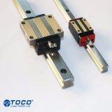 Направляющая линейного перемещения каретки по каркаса блоки маршрутизатора линейных Guideway HGH40CA1-R100-Z0c