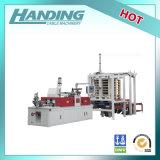 Sistema que empila automático para la maquinaria del alambre y del cable