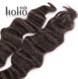 Krullende Natuurlijke Zwarte Keratine I van 20 Duim de Uitbreiding van het Menselijke Haar van het Uiteinde