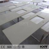 家具の流しが付いている固体表面の台所カウンタートップ