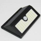 Luz solar al aire libre accionada solar al aire libre del sensor de movimiento de 45 LED