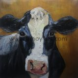 100% à la main ferme de l'huile de la vache d'art Les peintures sur toile à partir d'atelier