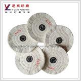 Roue de polissage de tissu de mousseline pour le finissage de miroir de surface d'acier inoxydable