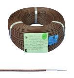 UL 3122 de caoutchouc de silicone sur le fil tressé en fibre de verre isolé