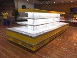 새로운 디자인 섬 과일 냉장고 내각 슈퍼마켓 공기 냉각 냉각장치