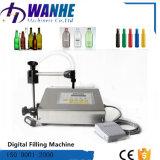 Semi-Auto máquina de enchimento líquida para frascos pequenos