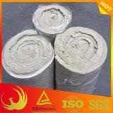 30mm-100mm rouleau de laine de roche de basalte étanche pour les vannes et raccords de tuyau