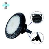 O excitador IP65 de Meanwell Waterproof a luz elevada do louro do UFO do diodo emissor de luz