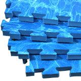 Azulejos antirresbaladizos de la simulación de la estera de Tatami de la espuma de la estera del rompecabezas de EVA