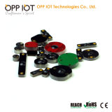 Cacifo que segue o Tag Heatproof RoHS do ODM do metal da freqüência ultraelevada da gerência RFID
