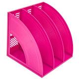 Colunas de 3 coloridos Recipiente Arquivo de plástico