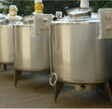 cuve de mélange de chauffage électrique en acier inoxydable mélangeant cuve