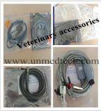 Veterinário Vet portátil digital com seis parâmetros do monitor de pacientes