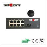 10/100/1000M 1GX/8GE гигабитных оптоволоконных переключатель для IP-камера