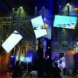 Apparatuur van de Omwenteling van de Vertoning van TV de Opheffende voor de Prestaties enz. van de Staaf