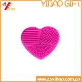 Щетки состава силикона щетка Heart-Shaped универсальной чистой мягкая, очищает слойку и очищает щетку слишком очищая (XY-HS-182)