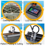 Cnc-Papierbeispielscherblock Belüftung-Acrylschablonen-automatische Ausschnitt-Maschine