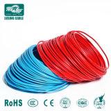 1,5 2,5 4 6 10 sq mm isolation PVC de fil de cuivre, Ménage Câble électrique