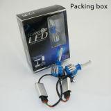 セリウムのEmark RoHSの点ISO9001 35W 6000K T3-H3 LED車のヘッドライトを渡しなさい