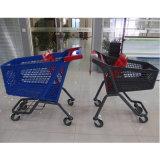 Вагонетка покупкы поставщиков коммерческих продучтов магазинной тележкаи супермаркета пластичная