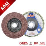 Fábrica de fibra de vidrio de alta calidad apoyando la tapa de disco abrasivo de óxido de aluminio