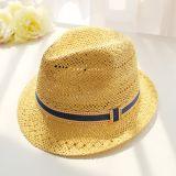 Mode de loisirs de l'été Chapeau de Paille personnalisé