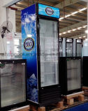 R134A 냉각하는 단 하나 유리제 문 상인 냉장고 디지털 온도 조종