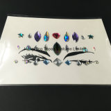 2018 стикеров кристаллический стикеров самоцвета стороны диаманта стороны Rhinestone акриловых кристаллический (S095)